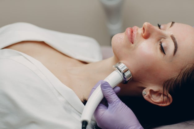 RF, Radiofrequency for facial rejuvenation