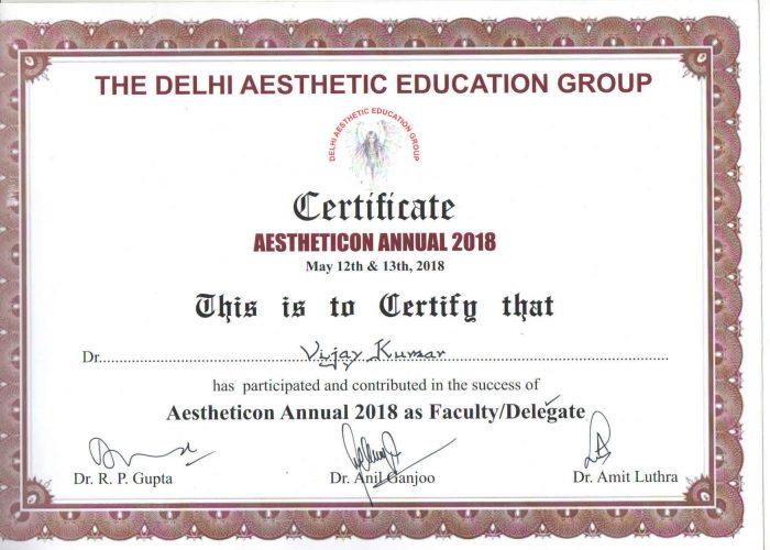 certificate 16th