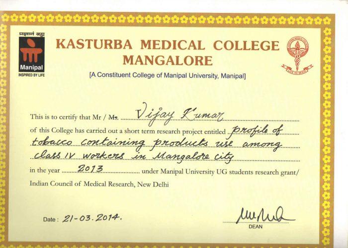 certificate 22nd
