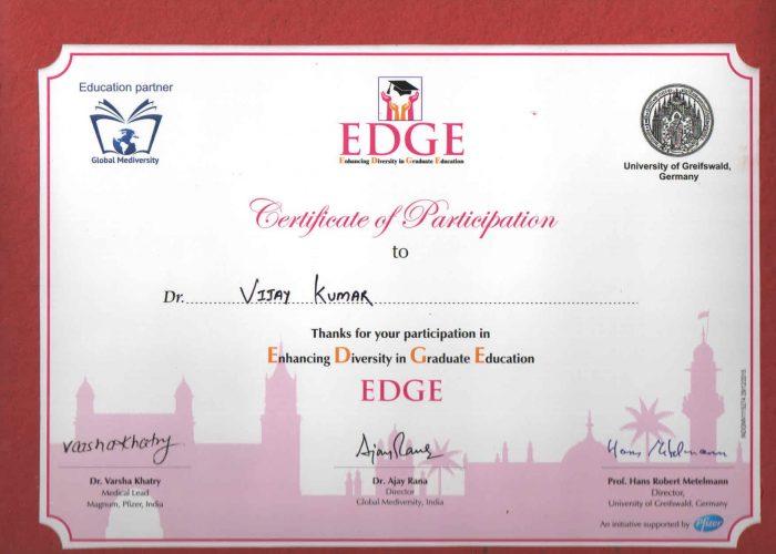 certificate 24th