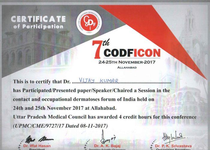 certificate 29th